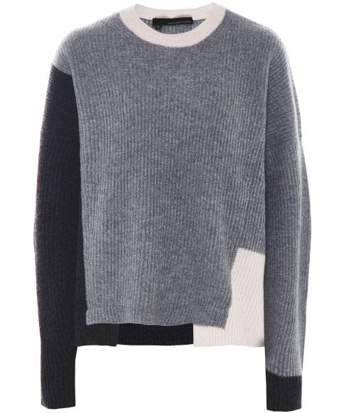 360 Cashmere AKIMA/36230 COLOUR BLOCK KNIT