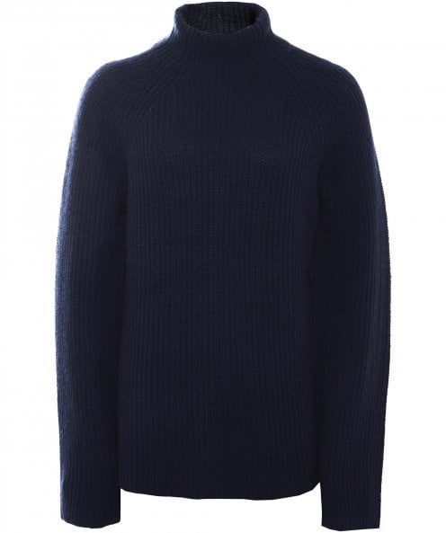 360 Sweater Cashmere Maye Funnel Neck Jumper
