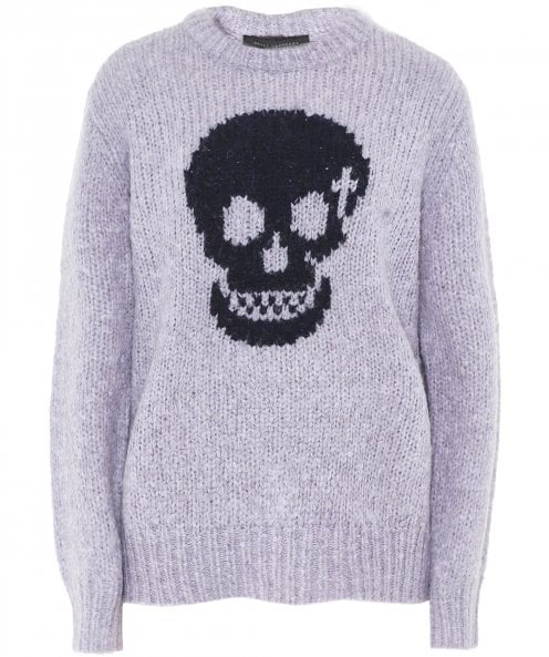 360 Sweater Wool Madonna Skull Front Jumper