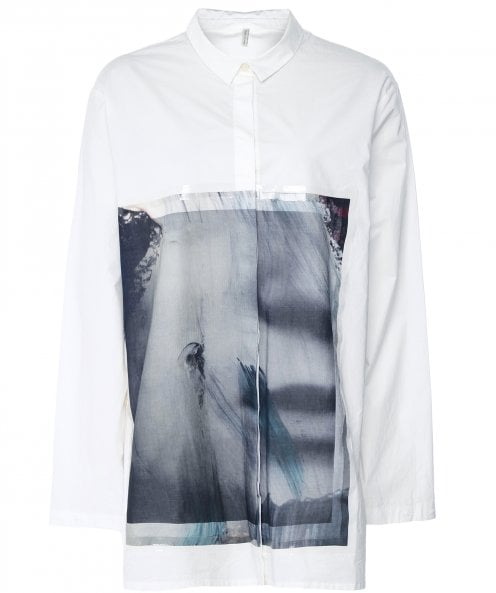 Annette Gortz Graphic Panel Oversized Shirt