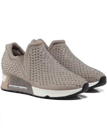 Embellished Neoprene Lifting Trainers