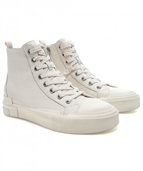 Ash Gilby High Top Leather Trainers