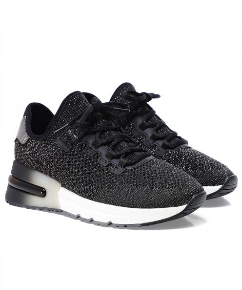 Ash Krush Bis Lurex Knit Trainers