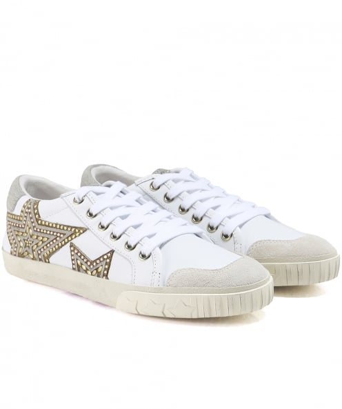 Ash Leather Magic Trainers