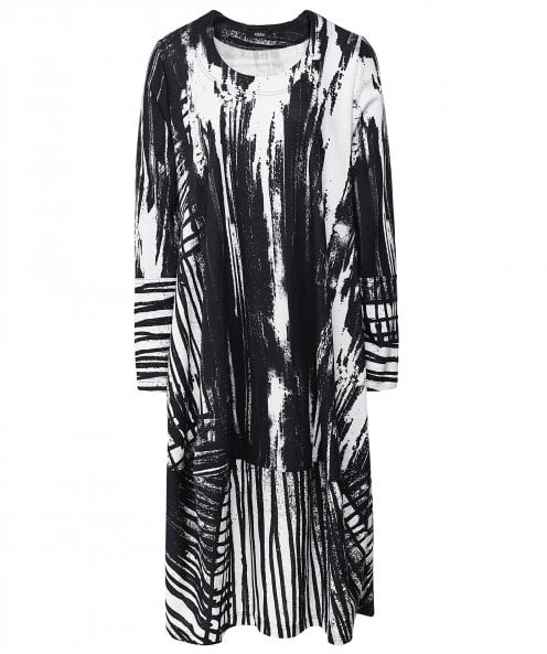 Ralston Bimse Abstract Print Dress