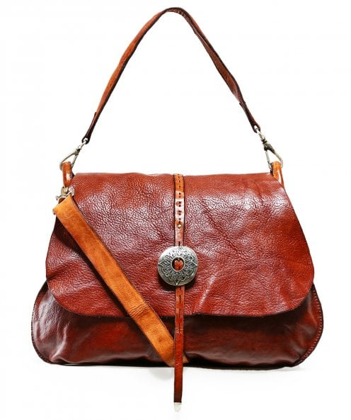 Campomaggi Leather Western Shoulder Bag