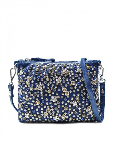 Campomaggi Star Embellished Leather Crossbody Bag