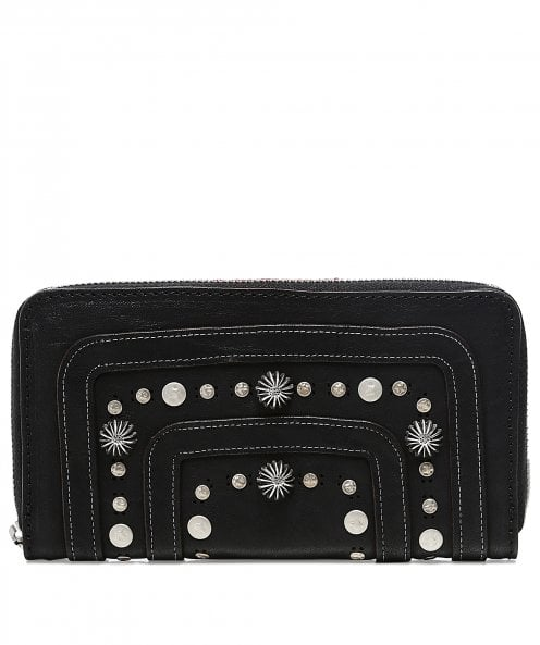 Campomaggi Studded Leather Purse