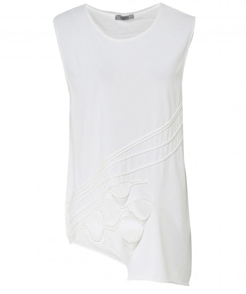 Crea Concept Cut Out Sleeveless Tunic