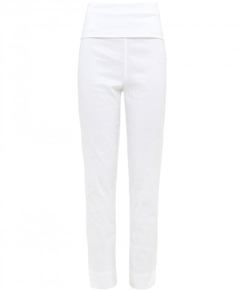 Crea Concept Linen Blend Stretch Fit Trousers