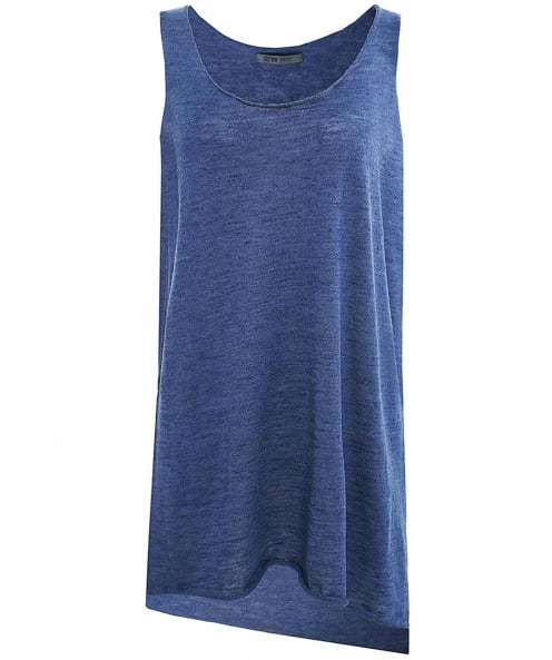 Crea Concept Linen Sleeveless Top