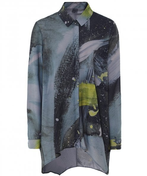 Crea Concept Polly Paint Splash Shirt