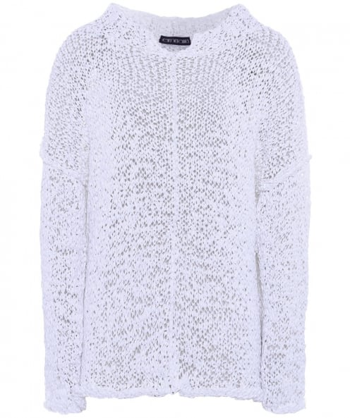 Esmeralda Heidi Textured V-Neck Jumper