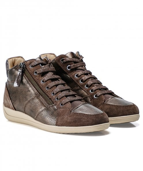 Geox Leather Myria Trainers