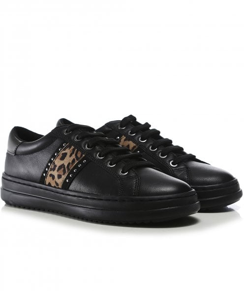 Geox Leather Pontoise Trainers