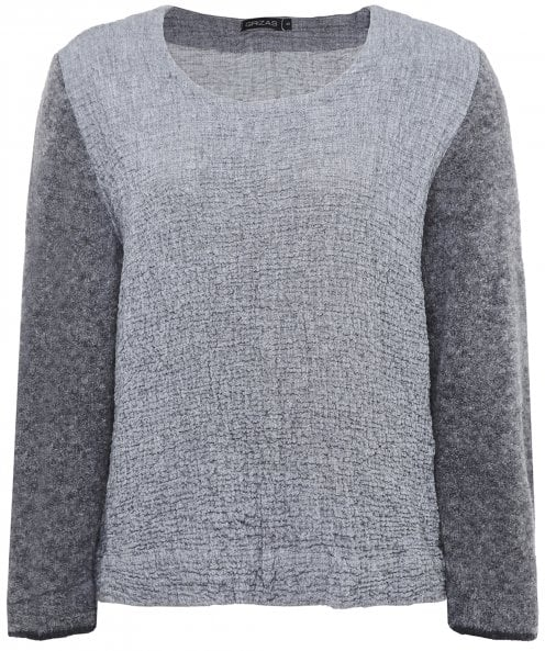 Grizas Lightweight Wool Sleeve Jumper