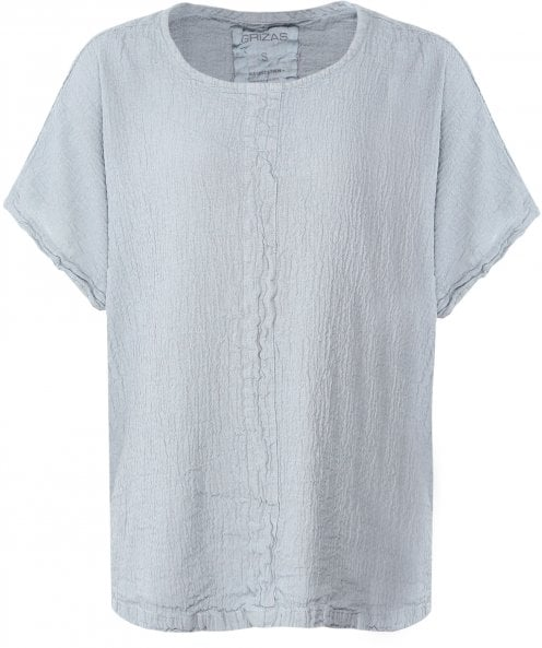 Grizas Linen Blend Cap Sleeve Top