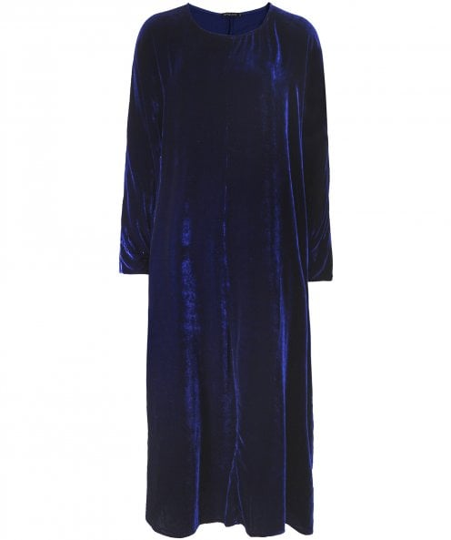 Grizas Velvet Midi Dress