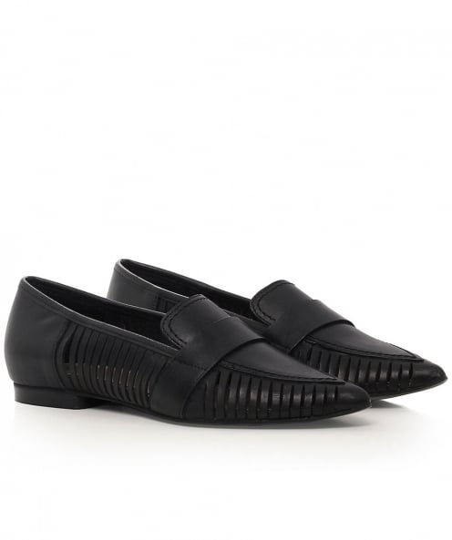 Hudson London Clara Leather Loafers