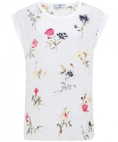 High Debut Floral Sleeveless Top