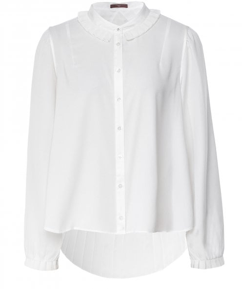 High Equate Pleated Back Shirt