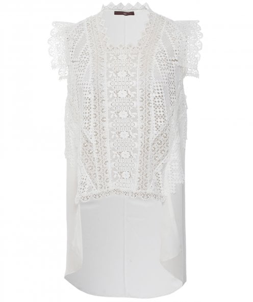High Finesse Lace Georgette Top