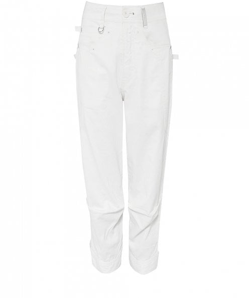 High Plucky Cropped Leg Trousers
