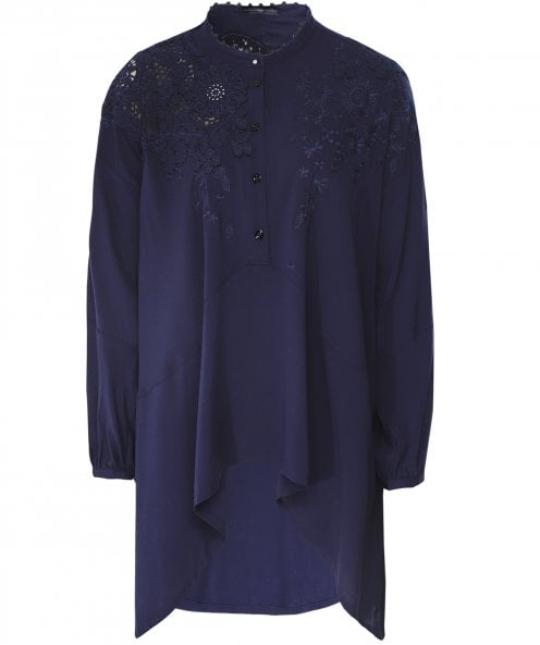 High Portray Lace Detail Shirt