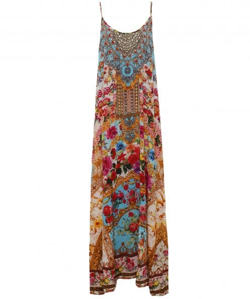 Covent Garden Silk Maxi Dress