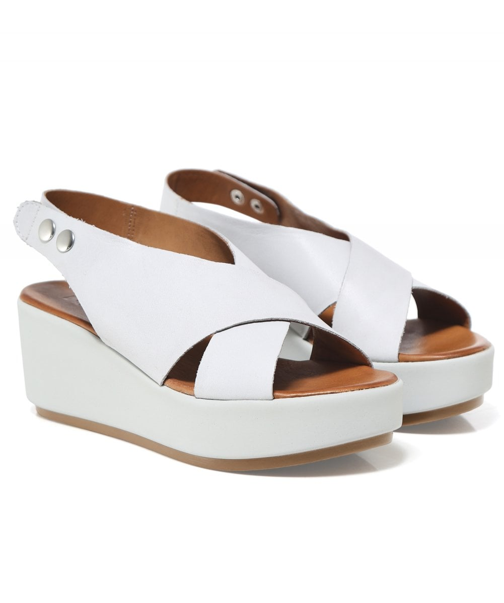 20644b3a8 Inuovo Leather Slingback Sandals