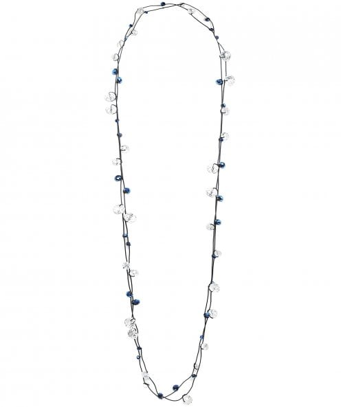 Jianhui Multi Strand Crystal Necklace