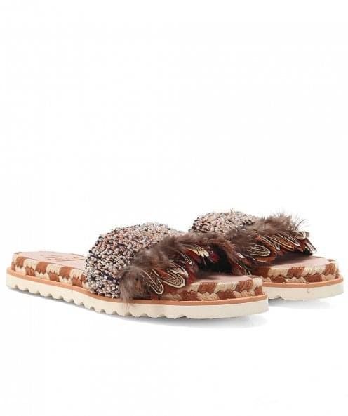 Kanna Neysa Fringed Sandals