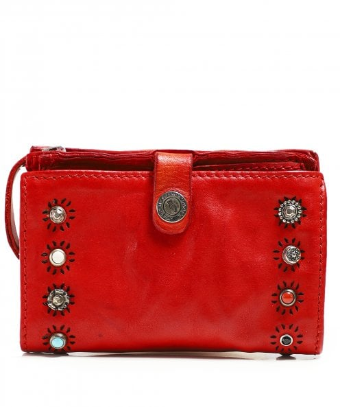 Campomaggi Leather Purse with Ravenna Studs
