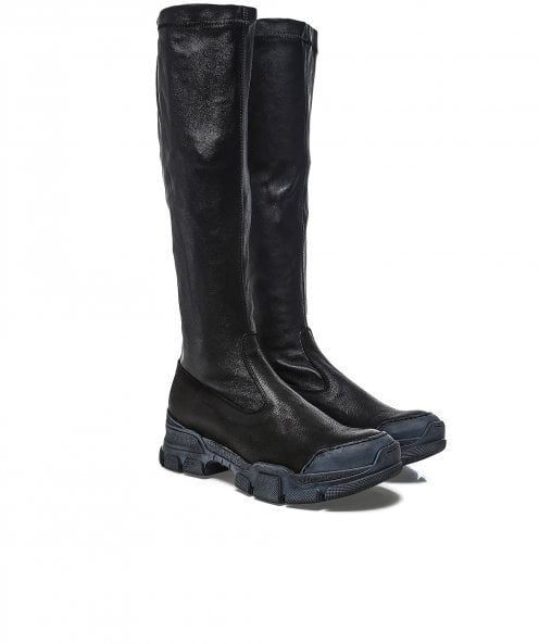 Lofina Long Leather Boots