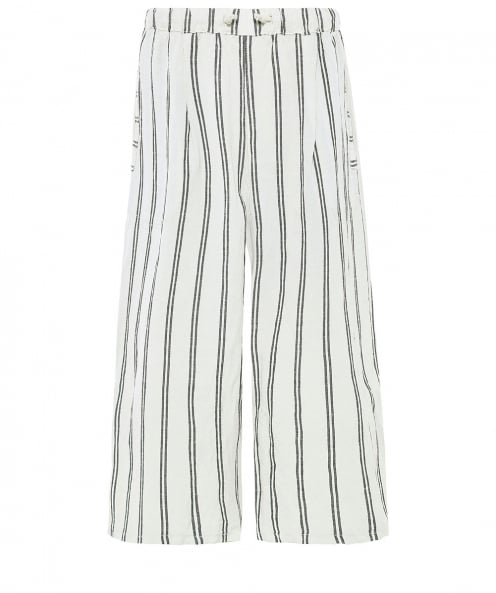 Lurdes Bergada High Waisted Striped Trousers