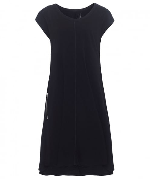 Lurdes Bergada Linen Blend Mid Length Dress
