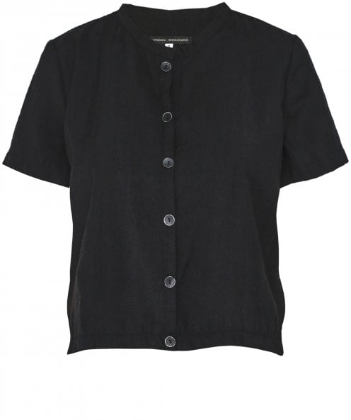 Lurdes Bergada Short Sleeve Button Shirt