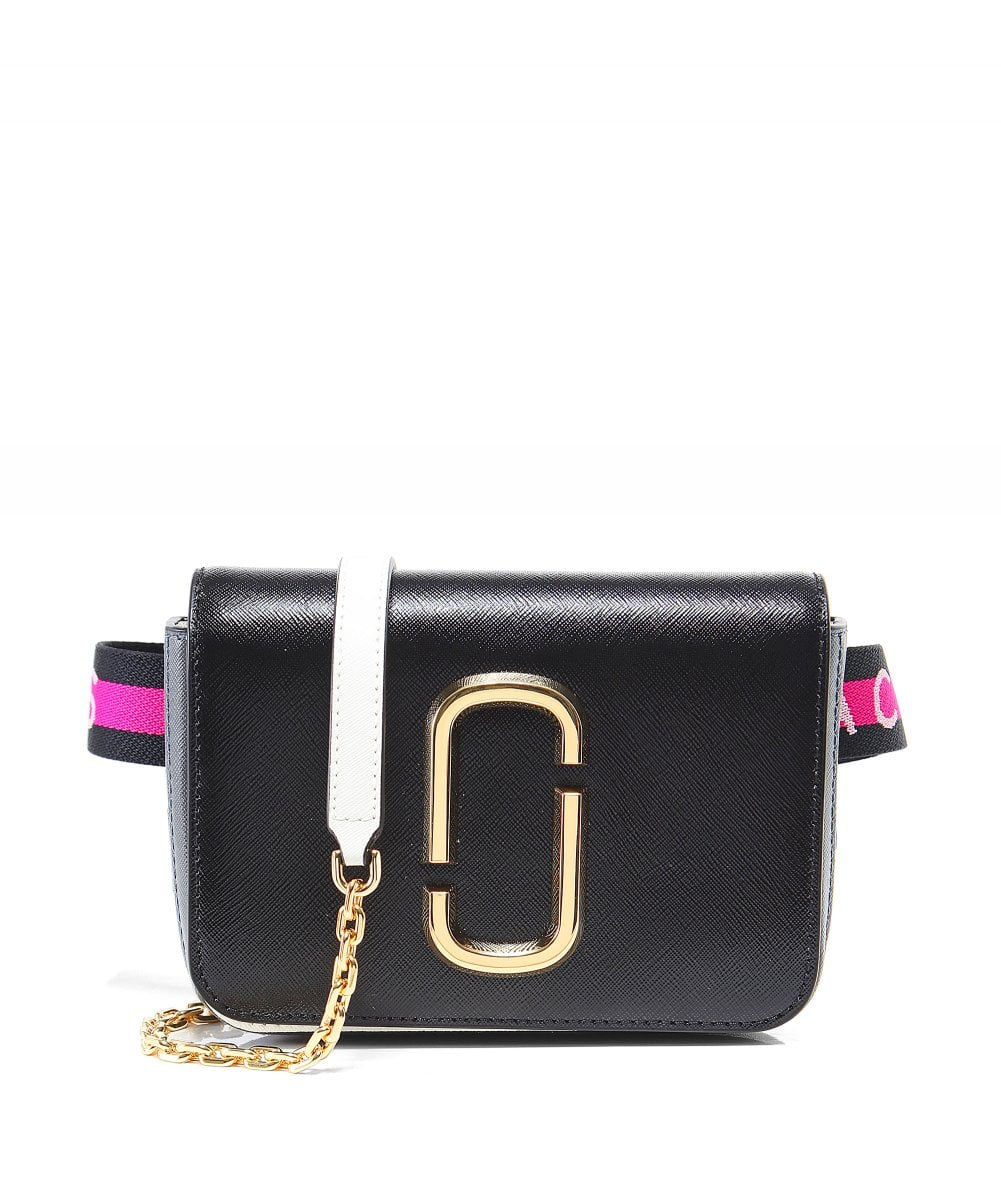 584f8253de4 Marc Jacobs Black Hip Shot Bag | Zen Wardrobe