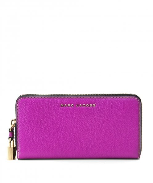 Marc Jacobs Leather Grind Continental Wallet