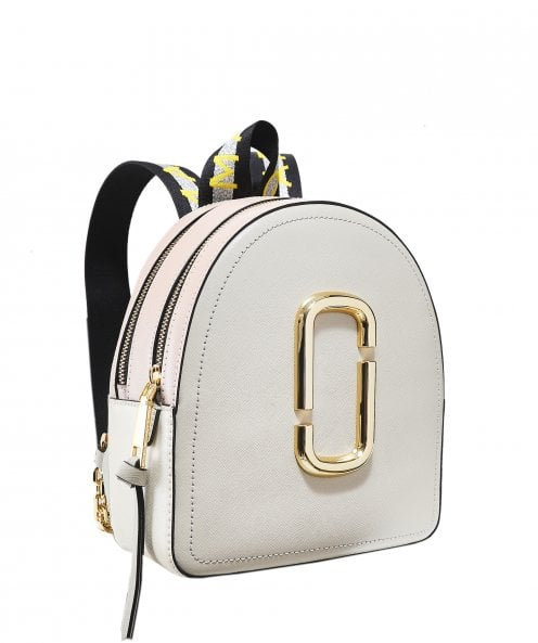 Marc Jacobs Logo Strap Pack Shot Backpack