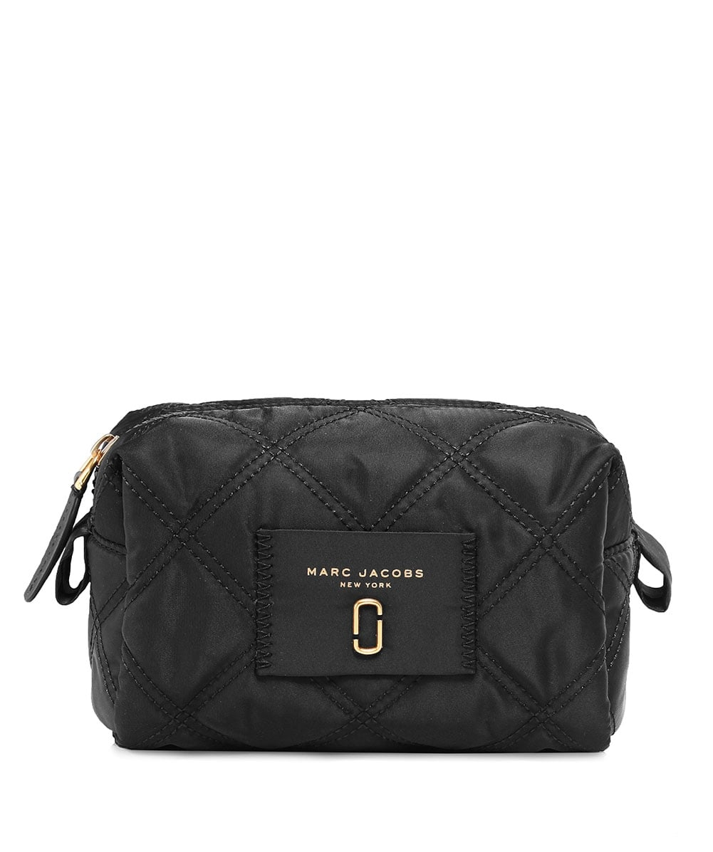 d90340a683e82 Marc Jacobs Black Nylon Knot Large Cosmetic Bag