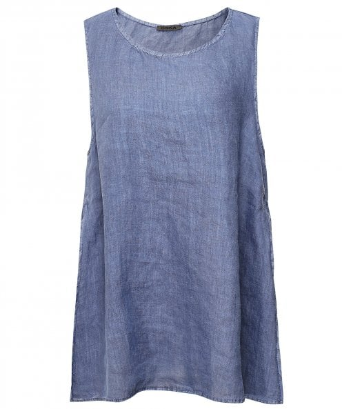 Oska Minja Hemp Sleeveless Top