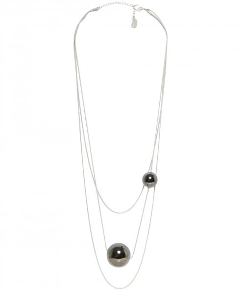 Nouv-Elle Multi Rope Sphere Necklace