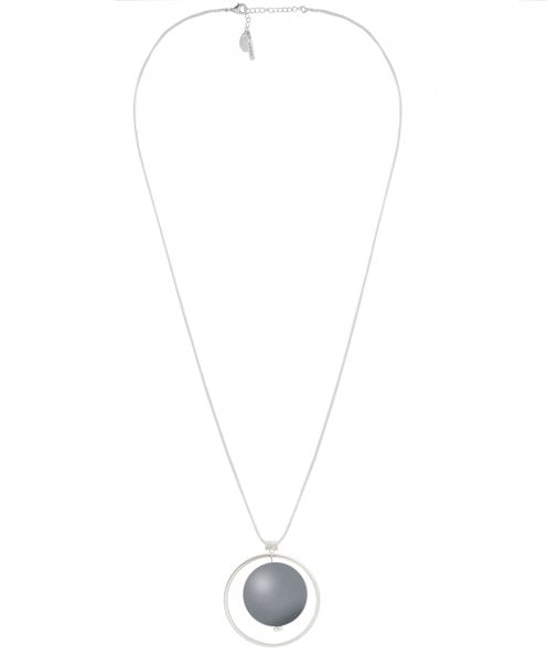 Nouv-Elle Orb Pendant Chain Necklace