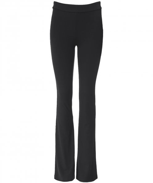 NU Flared Jersey Trousers