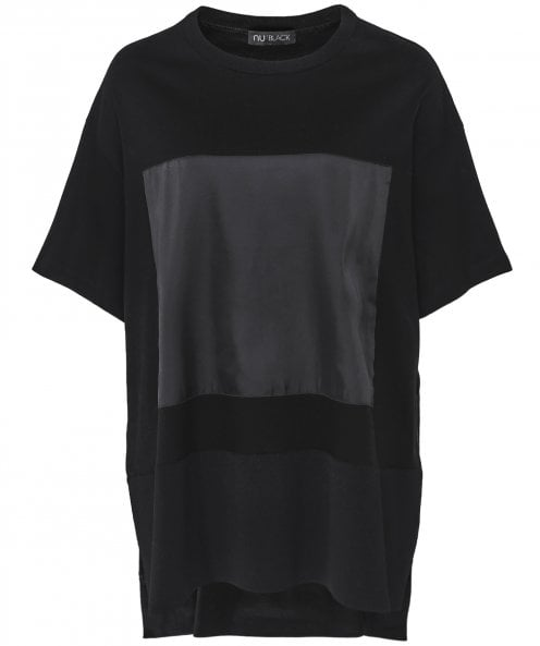 NU Oversized Split Hem T-Shirt