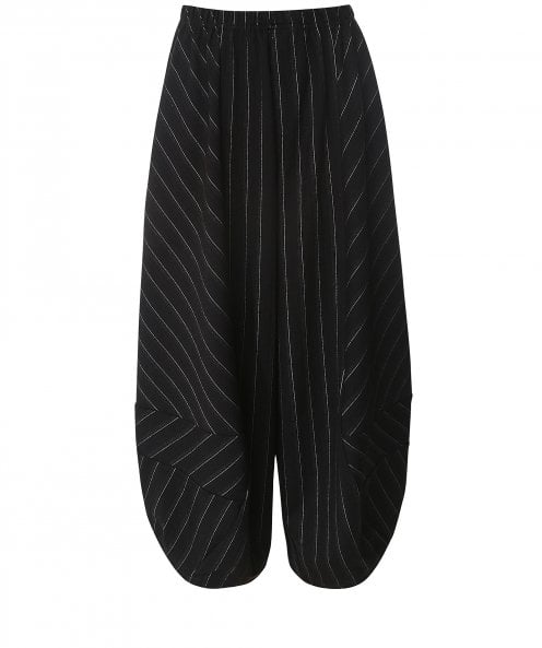Thanny Pinstripe Wide Leg Trousers