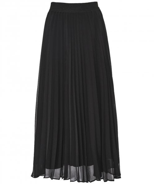 NU Pleated Maxi Skirt