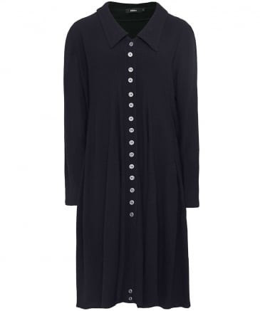 Anila Buttoned Coat Dress