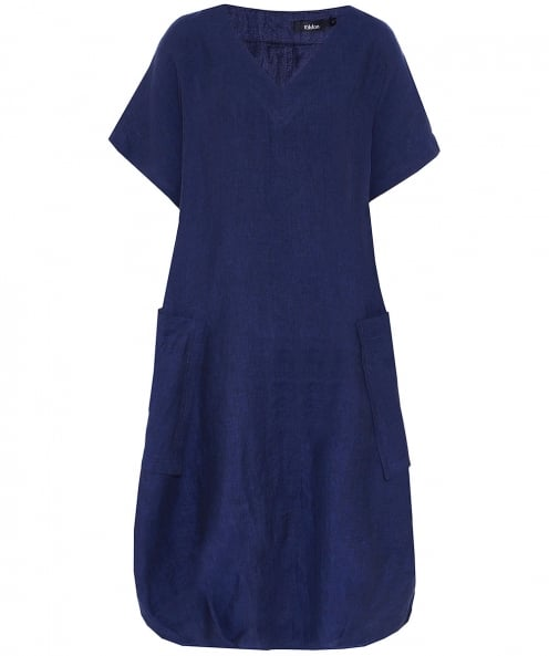 Ralston Iris Linen Button Dress